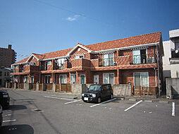 愛媛県松山市平井町の賃貸アパートの外観