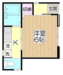 (仮)足立1丁目 共同住宅[1F号室]の間取り
