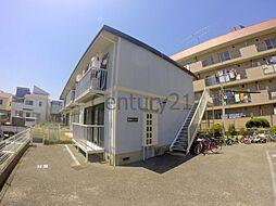兵庫県川西市絹延町の賃貸アパートの外観