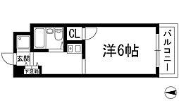 ローレルメゾン[1階]の間取り
