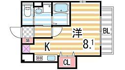 メゾン・ドゥ・ロン[3階]の間取り
