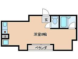 ウイングルートII[3階]の間取り