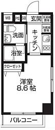 レオーネ板橋本町[3階]の間取り