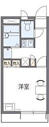 レオパレス三田ウチダ[2階]の間取り