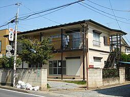 埼玉県北本市東間2丁目の賃貸アパートの外観