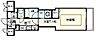 間取り,1K,面積24.6m2,賃料5.8万円,神戸市西神・山手線 大倉山駅 徒歩4分,,兵庫県神戸市中央区楠町6丁目3-10