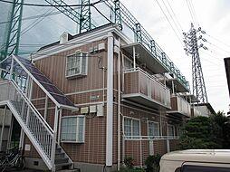 東京都国分寺市日吉町3丁目の賃貸アパートの外観