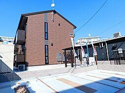 福岡県北九州市小倉北区片野新町1丁目の賃貸アパートの外観