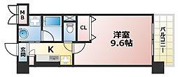 兵庫県神戸市灘区天城通7丁目の賃貸マンションの間取り