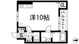 ラソ・ラ南花屋敷[1階]の間取り