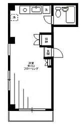 メゾン・メグ[3階]の間取り