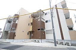愛知県名古屋市天白区平針5丁目の賃貸アパートの外観
