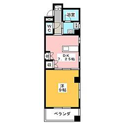 K's village[4階]の間取り