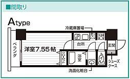 Nasic仙台東口[409号室号室]の間取り