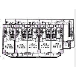 エルスタンザ大口[1階]の間取り