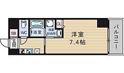 ドゥーエ立売堀[9階]の間取り