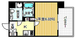 Grandi Utsubo Park[8階]の間取り