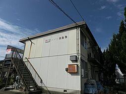 ハイツ大島 B棟[2階]の外観