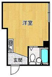サンパレス21甲子園[1階]の間取り
