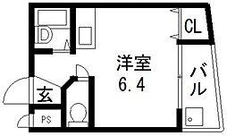 ARRONDIR新深江(アロンディール)[701号室号室]の間取り
