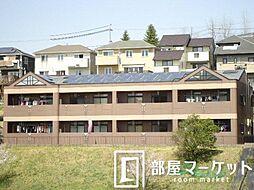 愛知県豊田市志賀町下番戸の賃貸アパートの外観
