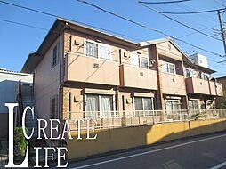 埼玉県戸田市笹目2丁目の賃貸アパートの外観