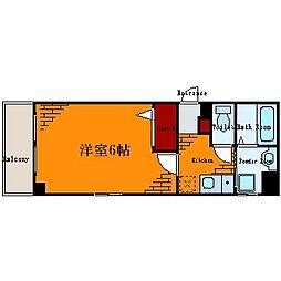アンプルールフェール紀隆[3階]の間取り