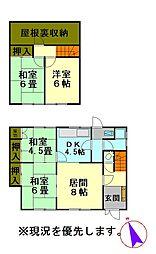 JR函館本線 小樽築港駅 バス3分 海上技術学校下下車 徒歩6分 4LDKの間取り