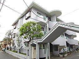 埼玉県新座市石神4丁目の賃貸マンションの外観
