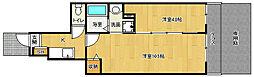 京阪本線 中書島駅 徒歩30分の賃貸アパート 1階2Kの間取り
