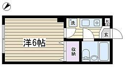 コンソルコート[1階]の間取り