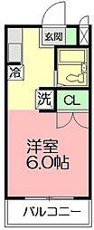 FSI湘南台[2階]の間取り
