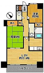 三田パークホームズ[3階]の間取り