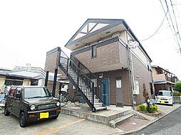 千葉県松戸市馬橋の賃貸アパートの外観