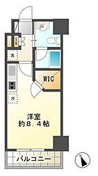 スパシエ国立矢川ステーションプラザ[10階]の間取り