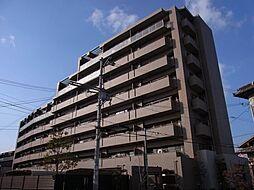 大阪府高槻市野田1丁目の賃貸マンションの外観