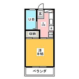 メゾン ナカシマ[3階]の間取り