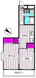 アメニティビルドイシハラ5[2階]の間取り