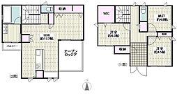 JR東海道本線 辻堂駅 徒歩23分の賃貸一戸建て 2SLDKの間取り