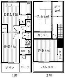神奈川県相模原市南区上鶴間3丁目の賃貸マンションの間取り