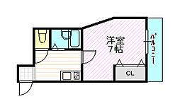 アーバン千林B棟[3階]の間取り