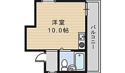 Phoenix WAKASHIO(フェニックス若潮)[2階]の間取り