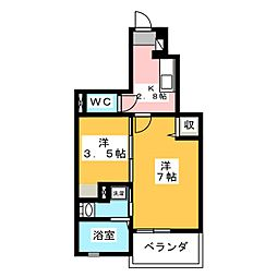 Fiorire[1階]の間取り