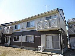 静岡県伊豆の国市古奈の賃貸アパートの外観