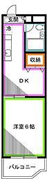 メゾン舞[2階]の間取り