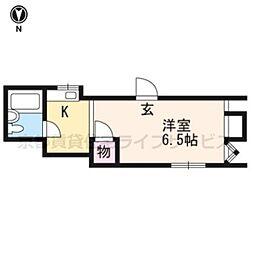 岡本ビル[5階号室]の間取り