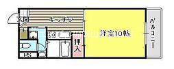 平井マンション奥田[1階]の間取り