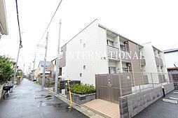 東京都調布市小島町3丁目の賃貸アパートの外観