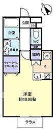 クラスカ[1階]の間取り