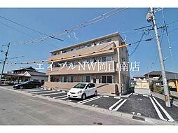 JR山陽本線 岡山駅 バス25分 洲崎下車 徒歩5分の賃貸アパート